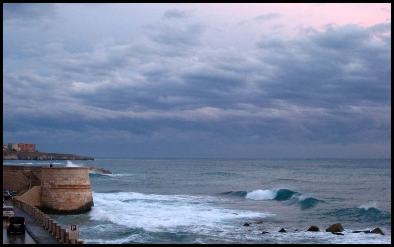 Ortigia seaside morning