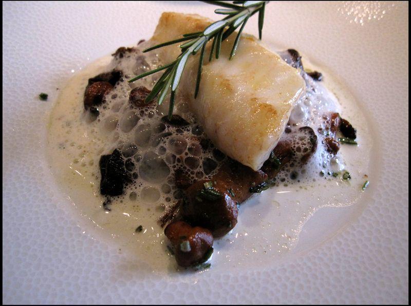 Beaucastel fish mushrooms