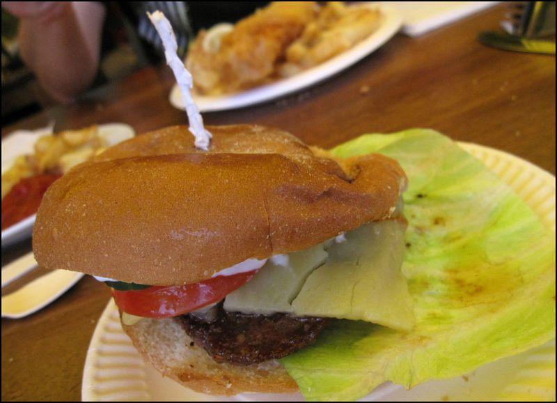 Real food burger