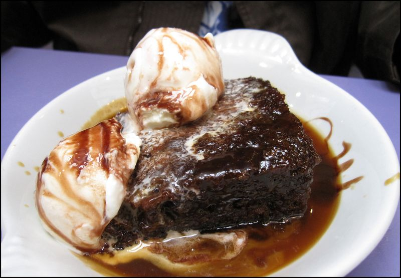 Luca sticky toffee pud