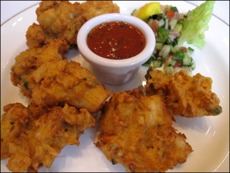 Mother india fish pakoras