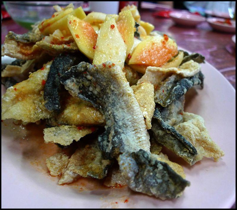 Jb ah meng fish skin