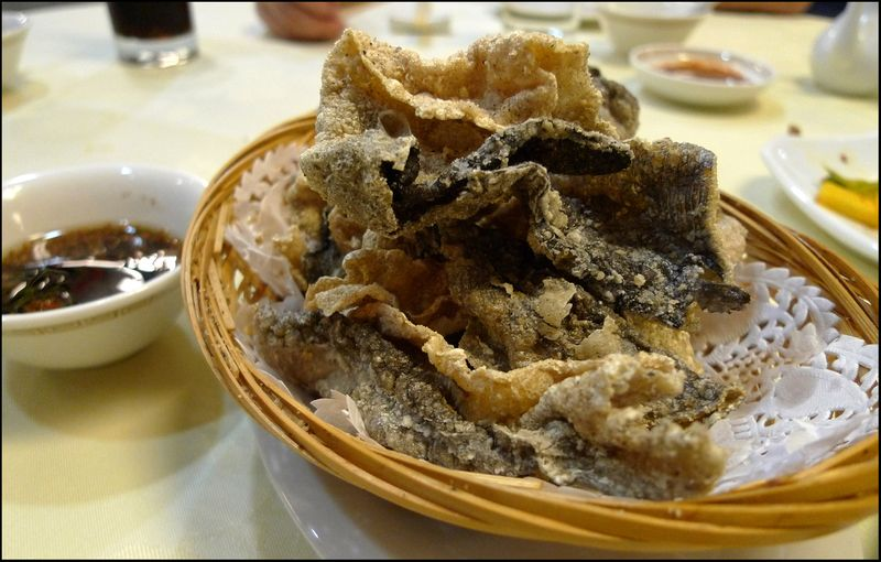 Ming kee fried fish skin