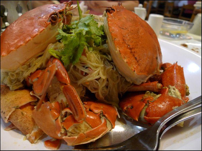 Ming kee crab noodles
