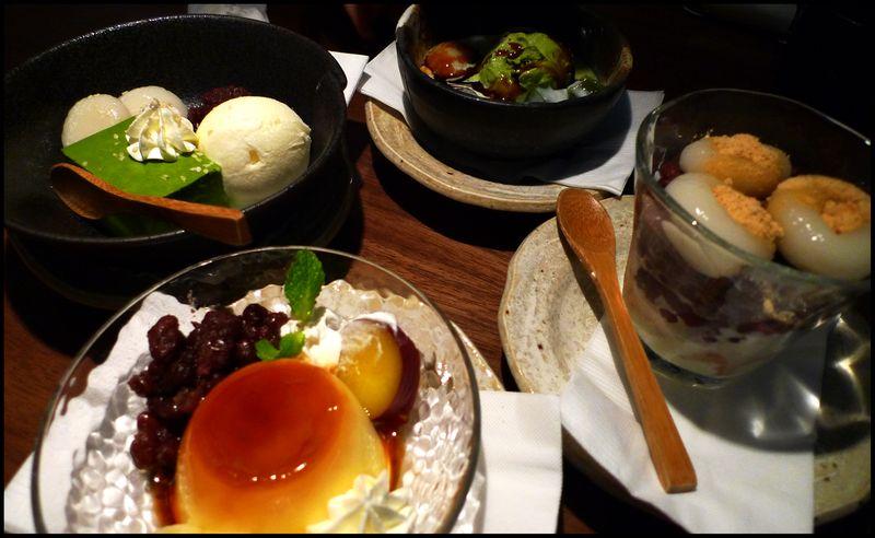Ootoya desserts
