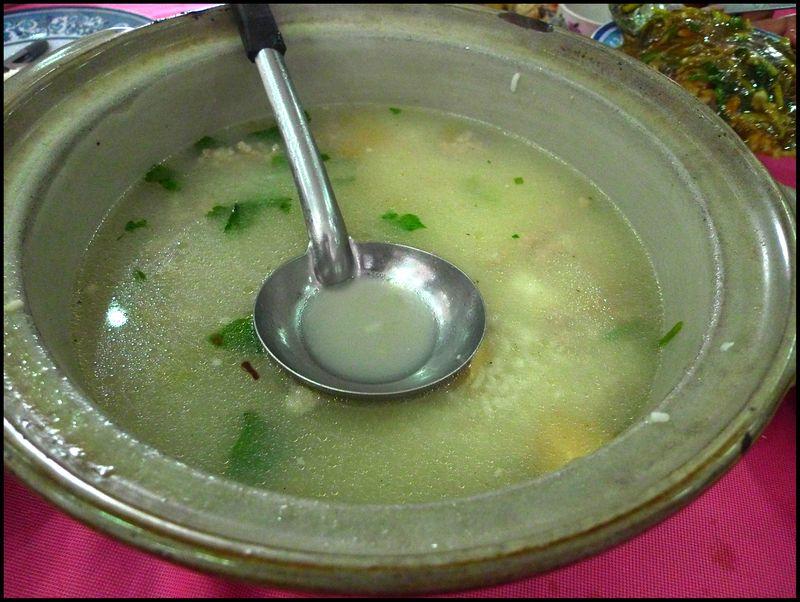 Heongkee fishporridge