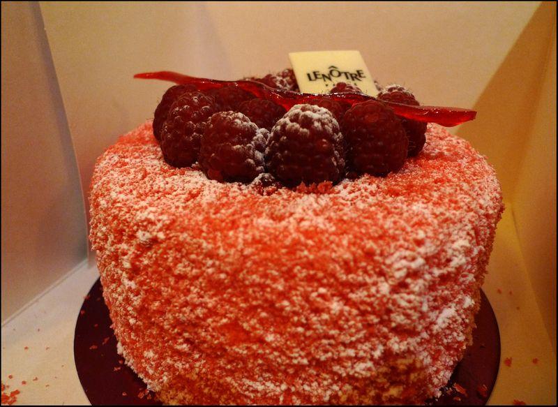 Lenotre rasp cake