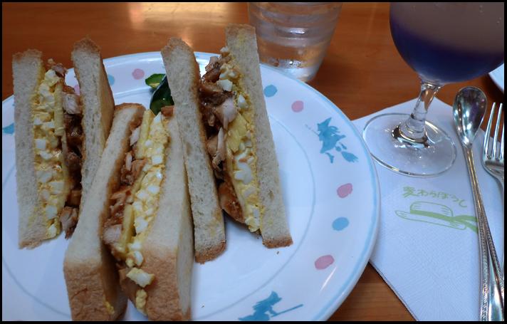 Ghibli sandwich