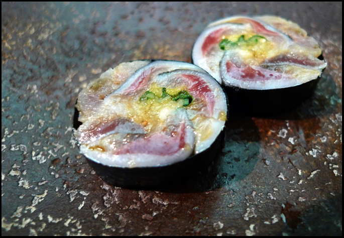 Sushi sardine