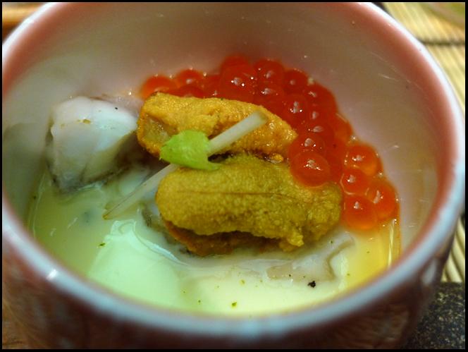 Sushi chawan mushi