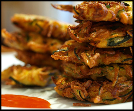 Organic Zucchini Fritters « Jenn-Fit Blog – Healthy Exercise ...