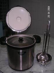 4.5l soup pot